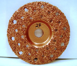 "4"" To-Air Grinding Disc 24 Grit"