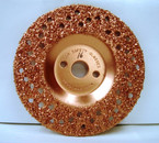 "7"" To-Air Grinding Disc 16 Grit"