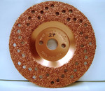 "7"" To-Air Tire Grinding Disc 24 Grit"