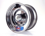 "6x5 Aluminum Wheel, Hub, 3/4"" Bearings"