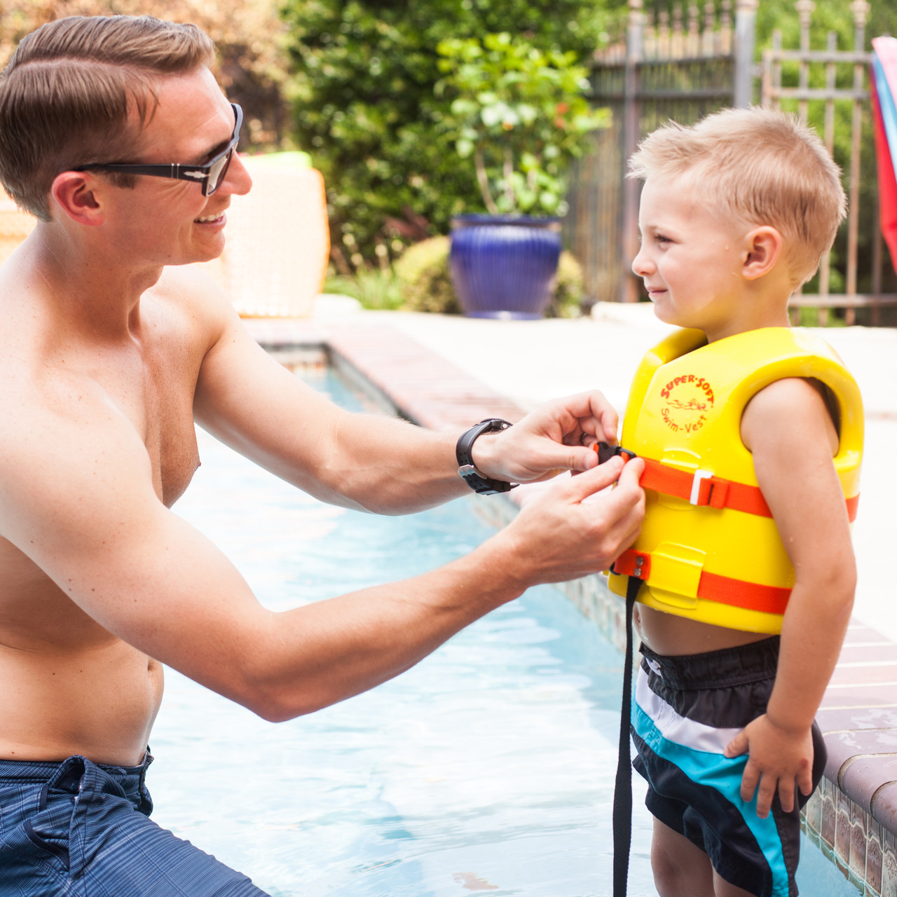Uscg Approved Child S Vinyl Coated Foam Swim Vest Small