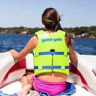 USCG Approved Youth Vinyl-Coated Foam Swim Vest - Medium