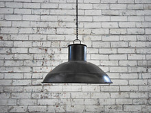 Raw Metal Pendant Shade