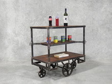 Industrial Railway Trolley Cart