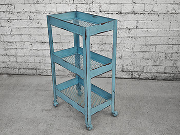Retro Kitchen Trolley Garden Trolley Industrial Furniture Melbourne