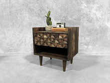 American Walnut Bedside Table