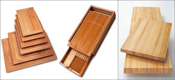Cutting Boards, Hardwood Drawer Inserts, Maple Counter Tops