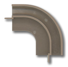 Tambour Track Corners - Interchangeable for Right or Left Application