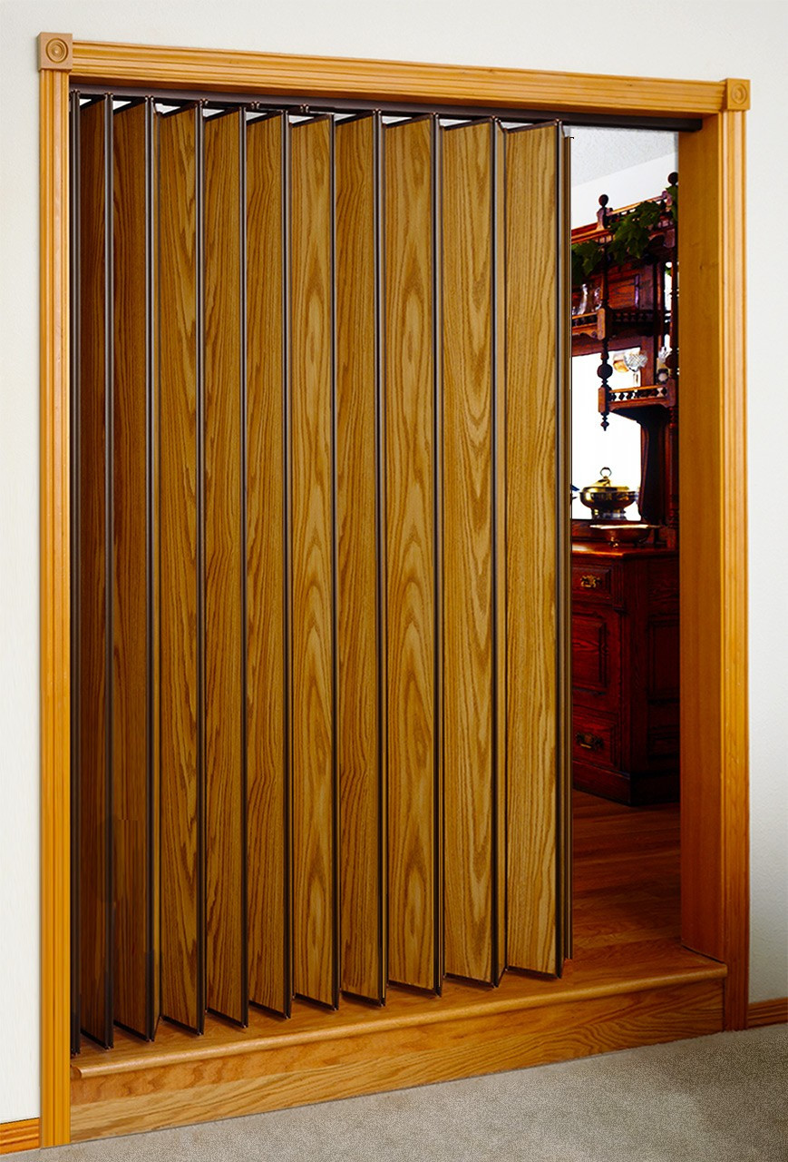 Accordion Folding Doors : Woodfold series sizes to quot wide high first