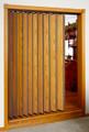 Accordion Door Room Divider Both Sides Finished