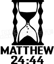 Matthew Biblical Quote 1 Religious Decal Sticker