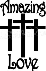 Amazing Catholic Love Religious Decal Sticker