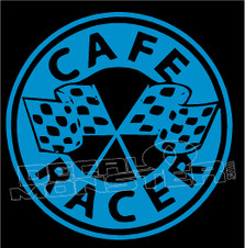 Cafe Racer 2 Decal Sticker