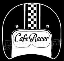 Cafe Racer 4 Decal Sticker