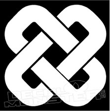 Celtic Knot 3 Decal Sticker