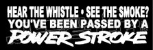 Ford Powerstroke Quote 5 Decal Sticker