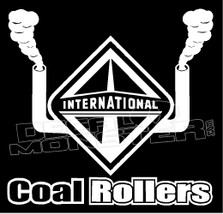 International Big Semi Rig Coal Rollers Decal Sticker