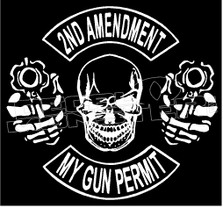 2nd Amendment 6 Decal Sticker