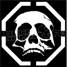 Recon Skull 1 Decal Sticker