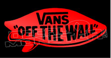 Vans Off The Wall Decal Sticker