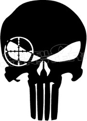 Navy Seal Skull 3 Decal Sticker