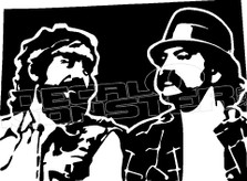 Cheech and Chong 1 Decal Sticker