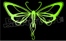 Butterfly Silhouette 7 Decal Sticker
