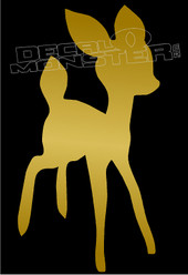 Bambi Silhouette 2 Decal Sticker
