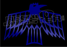 Raven Native 1 Decal Sticker