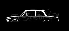 BMW 2002 Classic Silhouette Decal Sticker