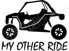 My Other Ride Polaris Razor UTV Decal Sticker