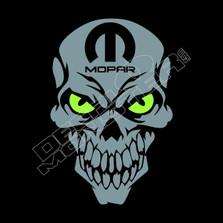 Mopar Skull Dodge Decal Stitcker