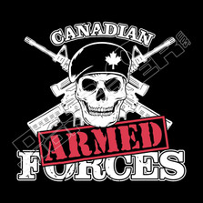 Canada's Armed Forces Decal Sticker