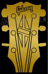 Gibsin Guitars Decal Sticker