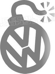 Volkswagen Bomb Decal Sticker