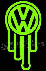 Dripping Volkswagen 2 Decal Sticker