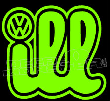 Volkswagen Ill 1 Decal Sticker