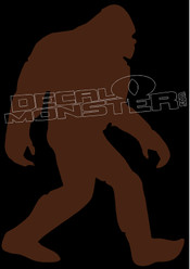 Bigfoot Silhouette 35 Decal Sticker