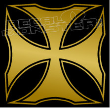 Iron Cross Celtic 1 Decal Sticker