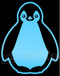 Happy Feet Penguin Decal Sticker