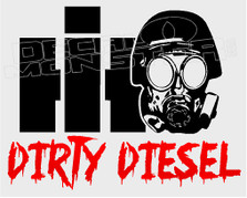 International Dirty Diesel 11 Decal Sticker