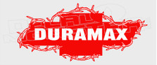 Chevy Diesel Duramax Barb Wire 11 Decal Sticker
