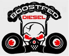 Boostfed Diesel 1 Decal Sticker