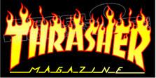 Thrasher Magazine Logo 1 Decal Sticker