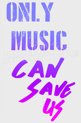 Only Music Can Save Us Decal Sticker