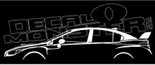 Subaru WRX STI Sedan (VA 2014-) Decal Sticker