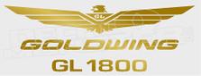 Goldwing Logo Motorcycle Decal Sticker