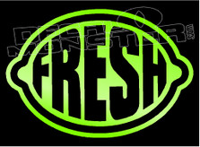 JDM Lime Fresh Decal Sticker