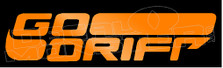 Go Drift Decal Sticker