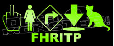 FHRITP Naughty Decal Sticker